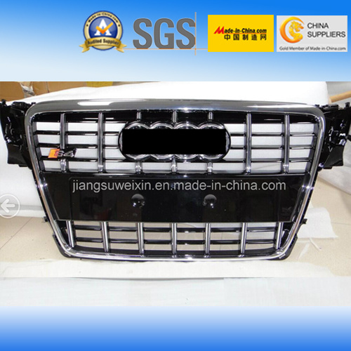 China Black (Chromed Logo) Front Auto Car Grille for Audi S4