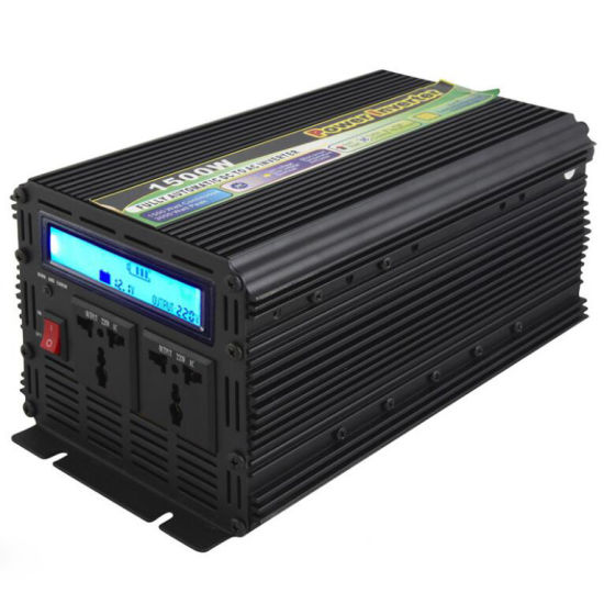 1500W DC 12V/24V to AC 110V/220V/240V Modified Sinve Wave Inverter with UPS Charger with LCD Display, Frequency Inverters pictures & photos