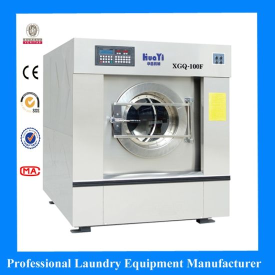 Fully Stainless Steel Industrial Washing Machine for Hotel Hospital Laundry Machine Equipment Washer Extractor Flatwork Ironer Bedsheets Folding Machine
