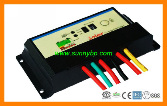 12V/24V/48V 10A 20A Solar Street Light Charge Controller pictures & photos