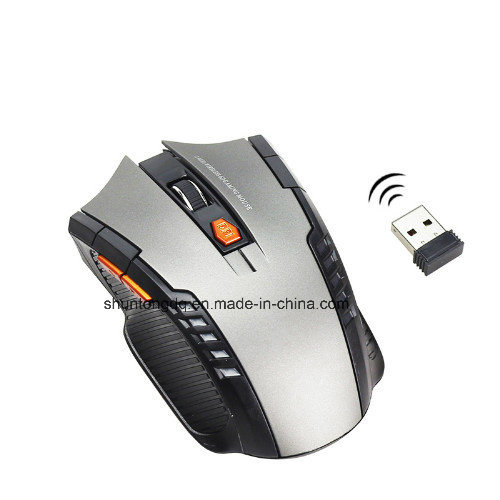 Hot Mini 2.4GHz Wireless Optical Mouse Gamer for PC Gaming Laptops New Game Wireless Mice with USB Receiver Drop Shipping Mouse pictures & photos