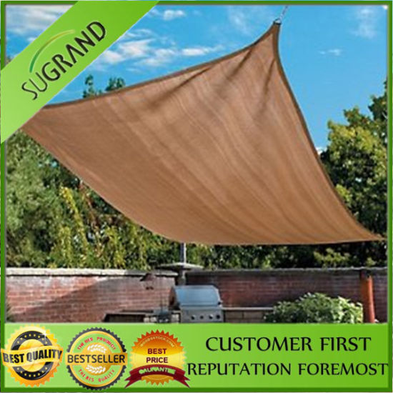 Large Stock Square Beach Shade Sail
