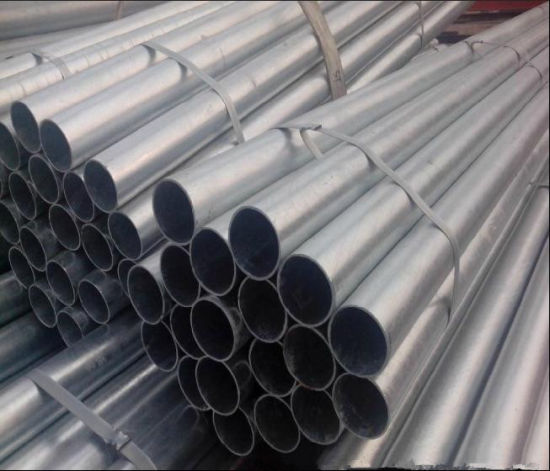 Pre-Galvanized Round Steel Pipe/1inch 1.5inch Hollow Section Steel Tube pictures & photos