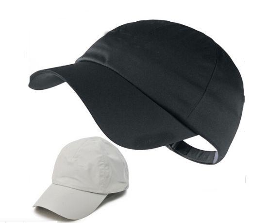 a2924be4421 China Classics Black White Cotton Golf Cap - China 100% Cotton Cap ...