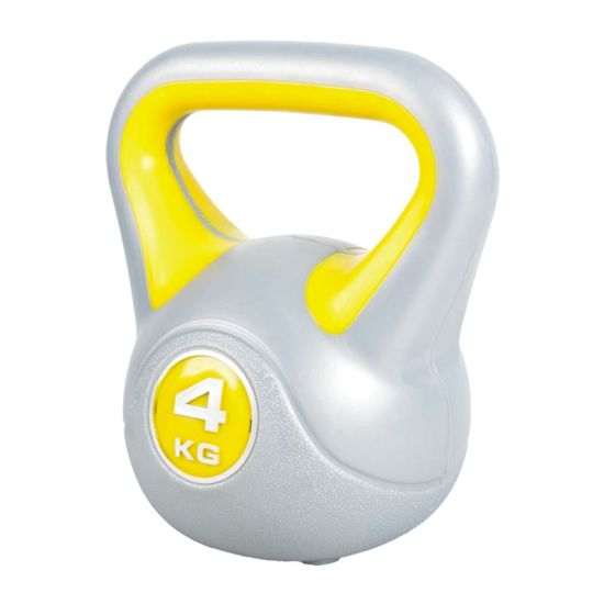 Double Color Plastic Cement Filled Weight Kettlebell