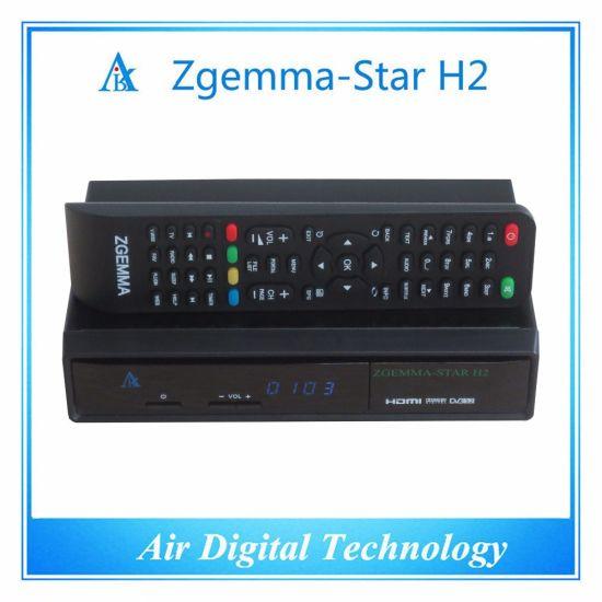 China Official Software Zgemma Star H2 Satellite Receiver
