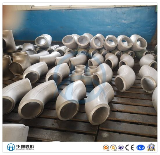 Stainless Steel Welded Elbow Connector