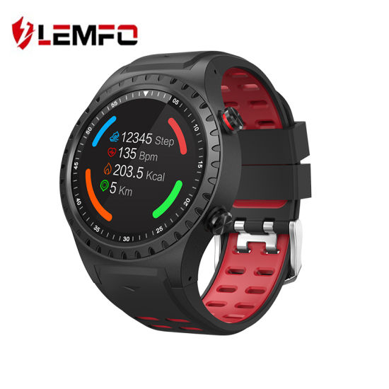1907aa9aebfe Lemfo M1 Smart Watch Support SIM & Bluetooth Phone Call GPS Smartwatch  Phone Men Women IP67 Waterproof Heart Rate Monitor Clock