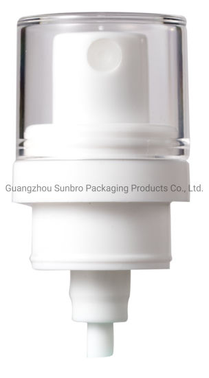 External Spring PP Plastic Dispenser Cosmetic Packaging Lotion Sprayer Pump pictures & photos