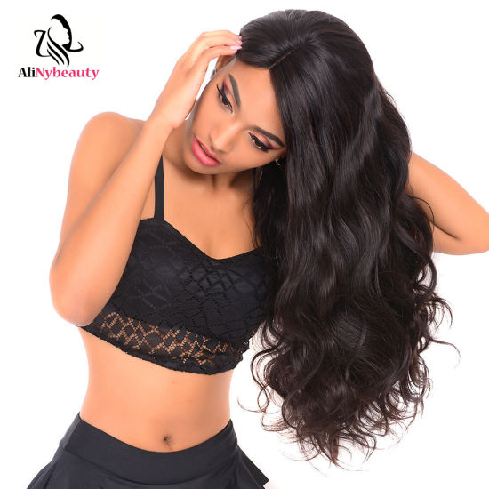 Alinybeauty Human Hair Lace Front Wig Wholesale Price Body Wave