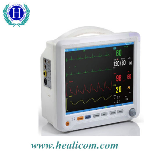 Hm-8000b Cheap Patient Monitor Multi-Parameter Patient Monitor Price pictures & photos
