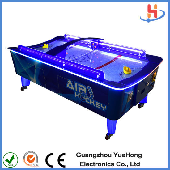 Coin Operated Educational Games Air Hockey Table Machine