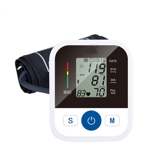 Hot CE Wholesale Talking Upper Arm Digital Blood Pressure Monitor with Large Cuff