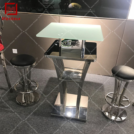 Stainless Steel Top Bar Table Design Ideas