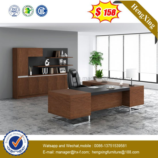 High Quality L Shape Executive Table Wooden Modern Office Furniture pictures & photos