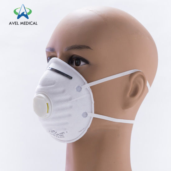 Nonwoven Mouth Cover Anti Dust Face Disposable Mask Dustproof Anti-Bacterial FFP2/FFP3 Dust Mask for Industry Grade with CE Certificate