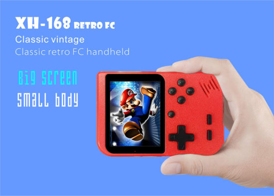 High Quality 168 in 1 Portable Handheld Controller Retro Game Console