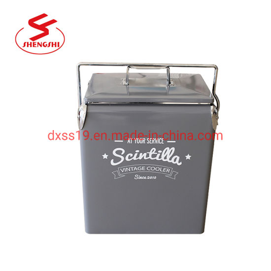 17L Food Drink Beer Camping Picnic Insulated Cooler Box