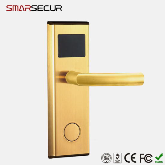 Smart IC Card Door Lock Hotel/Apartment/Office Electromagnetic Induction Door Lock pictures & photos