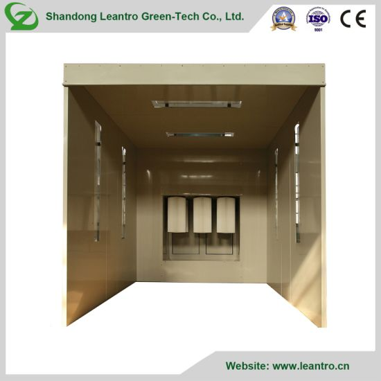 New Type China Powder Coating Line with Powder Coating Booth