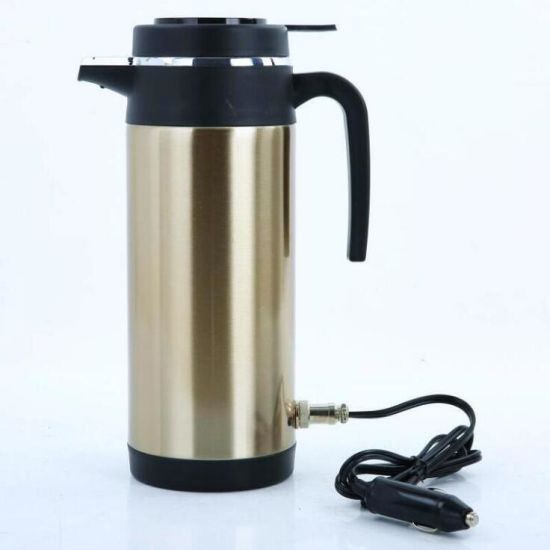 New Electric Auto Electrics Stainless Steel Tea Cup Heated Car Mug