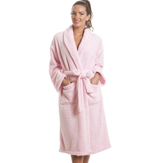 Wholesale New Design Custom Size Full Length Cotton Hotel Bathrobe