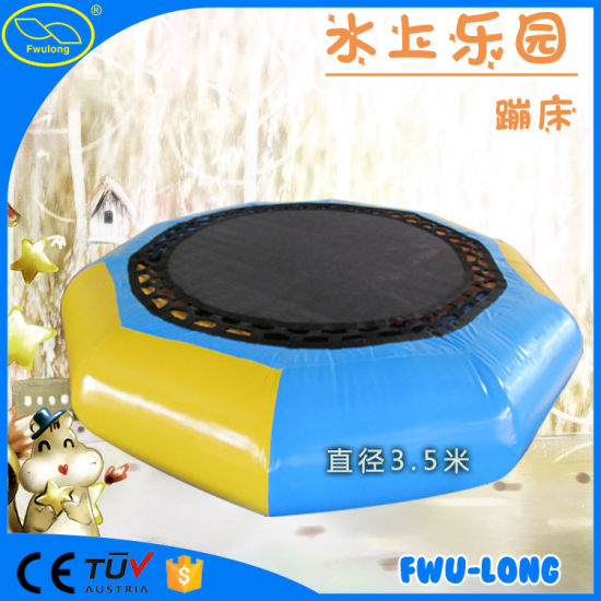 Water Park Inflatable Water Trampoline for Sale pictures & photos