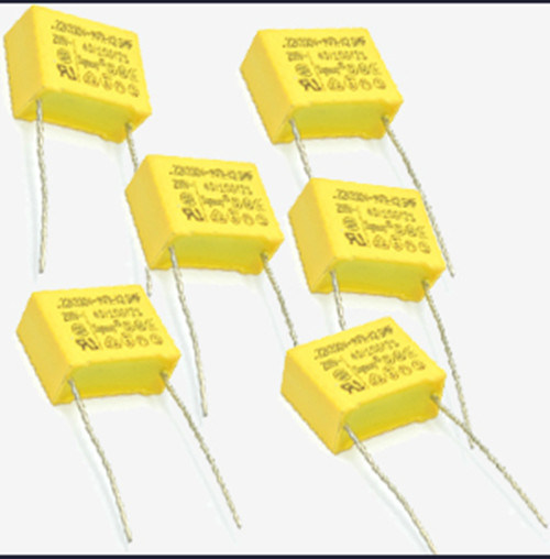 Yellow 0.1UF K 275V Metallized Polypropylene Film X2 Capacitor Tmcf18 pictures & photos