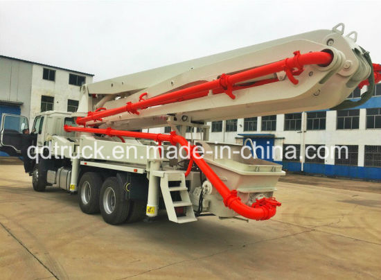 29M Truck Mounted Concrete Boom Pump pictures & photos