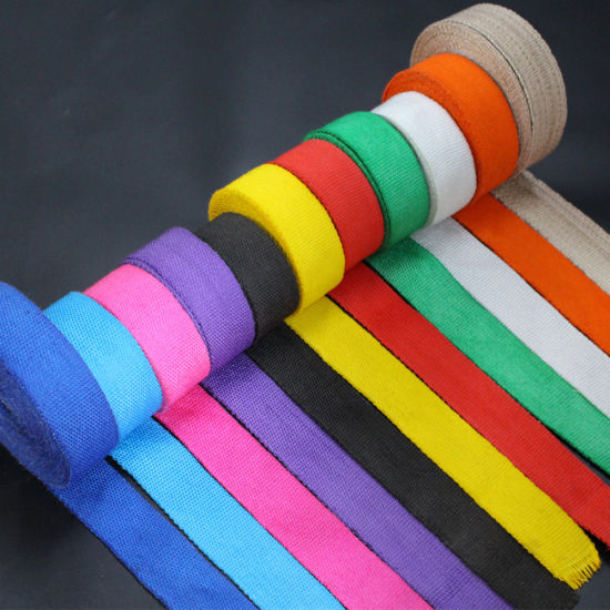 Heat Resistant Color Coded High Temperature Fiberglass Woven Tape