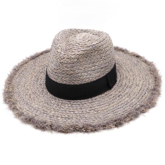 Summer Wholesale Raffia Beach Men Women Panama Straw Hats