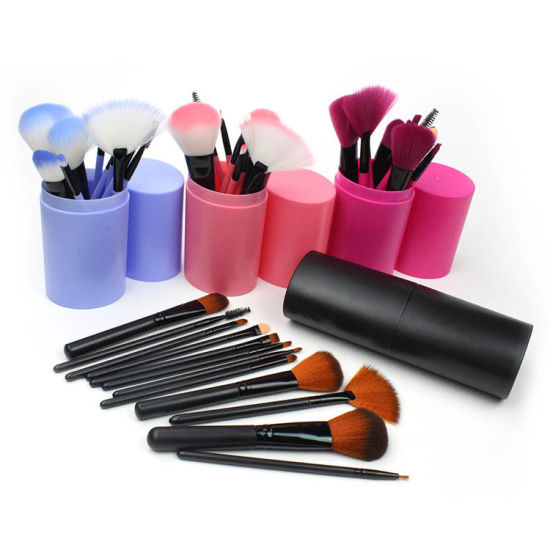 b119ae5d9b3 All in One Make up Brushes Kit, 11 PCS Professional Travel Makeup Brush