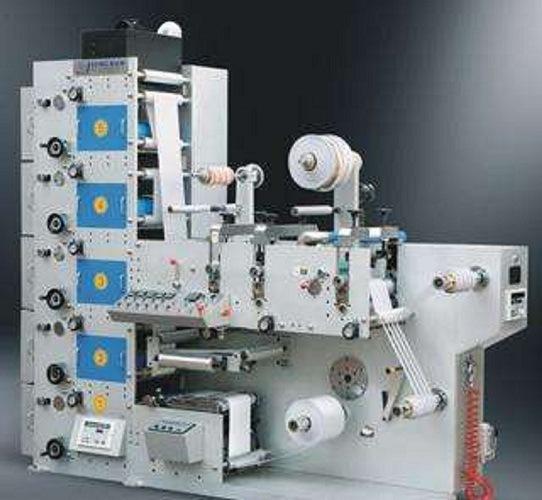 5 Color Label High Speed Flexo Printing Machine