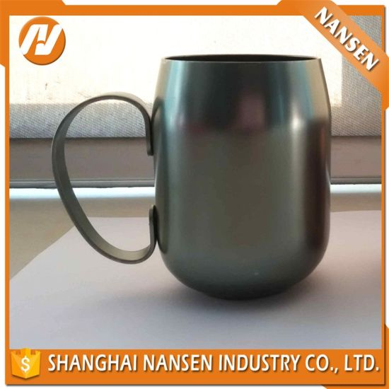 Custom Color Aluminum Cup with Handle Coffee Cup pictures & photos