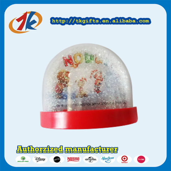Wholesale Plastic Water Game Toy Snow Globe Toy for Kids