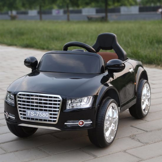 Hot Sell Leather Seat Children Electric Ride on Car pictures & photos