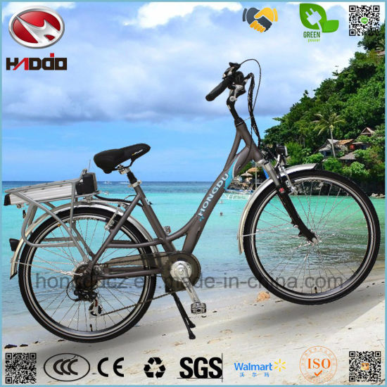 dbdd98c3ebe Wholesale 250W En15194 Electric City Bike Cheap Road Bicycle pictures &  photos