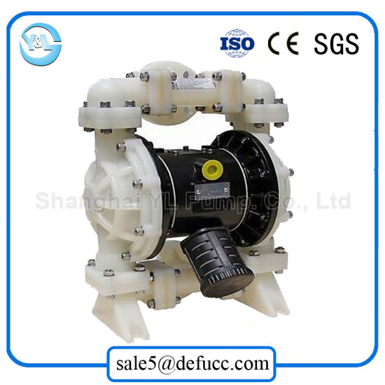 2 Inch Air Operated PVDF Sulfuric Acid Chemical Diaphragm Pump pictures & photos