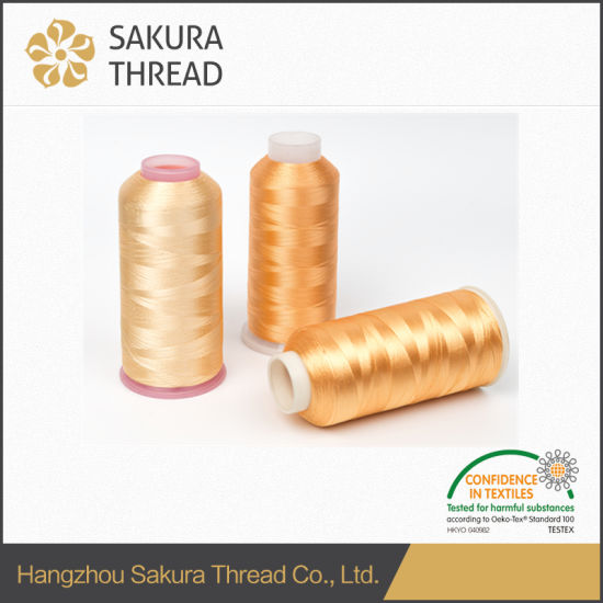 Computer Embroidery Machine Thread Rayon Viscose Embroidery Thread pictures & photos