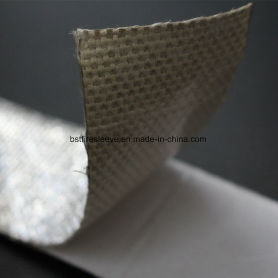Woven Fibreglass Insulation with Aluminium Thermal Reflective Heat Shield Tape pictures & photos