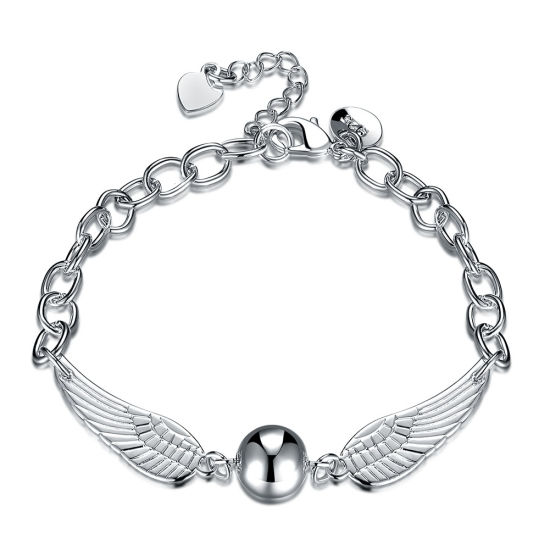 Fashion Design Women Silver Plated Bracelet 925 Sterling Silver Jewelry pictures & photos