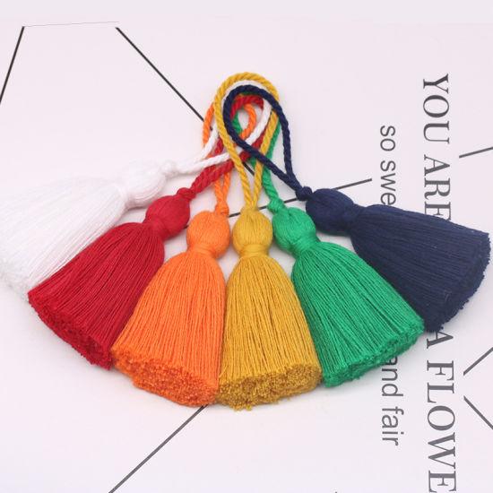 6 Cm Short Fat Cotton Tassel Dress Fringed Tassel Accessories Fringed Tassel for Perfume Bottle