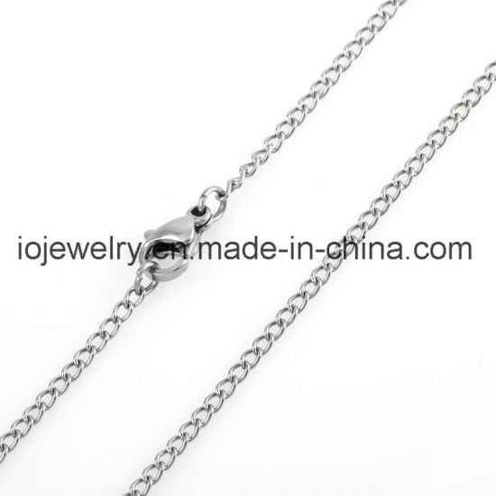 316 Stainless Steel Chain Necklace Any Length Available