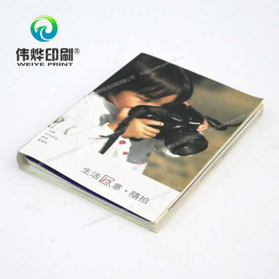 Book with Spiral Binding Offset Printing pictures & photos