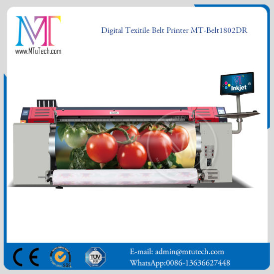 Belt Acid Textile Printer for Silk and Wool Fabric Direct Printing
