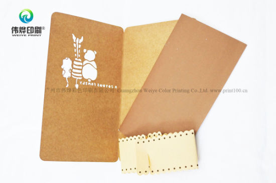 Hollow out Elegant Paper Printing Invitation / Gift Card pictures & photos