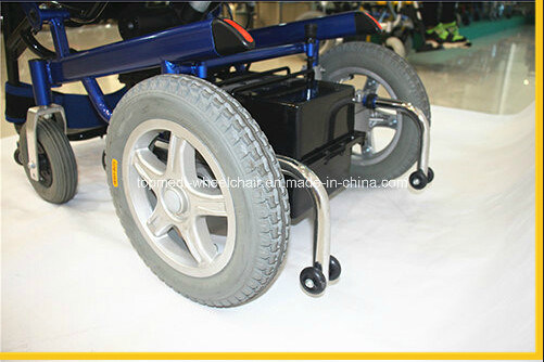 Rehabilitation Therapy Power Electric Standing Wheelchair for Disabled People pictures & photos