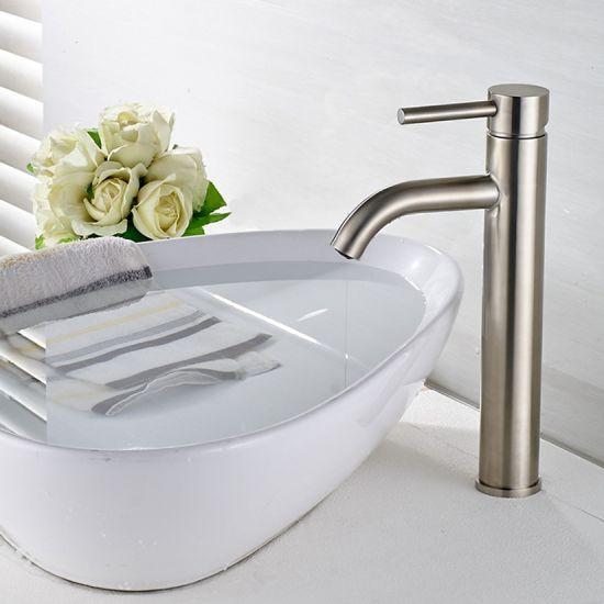 Basin Faucet Ceramic Plate Spool Bathroom Faucet
