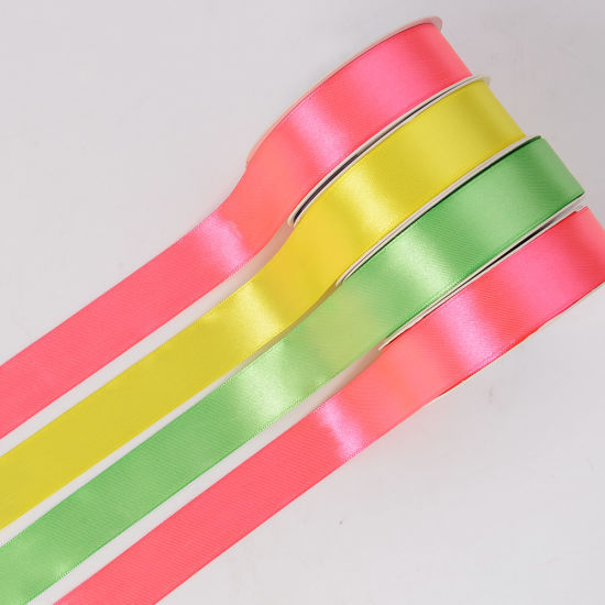 6mm 1/4′′ Double Faced Double Sided Satin Ribbon Wholesale pictures & photos
