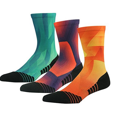 Custom Fashionable 3D Printing Sport Casual Unisex Sock in Various Designs and Sizes pictures & photos